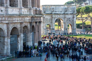 entrar en el Coliseo sin hacer cola