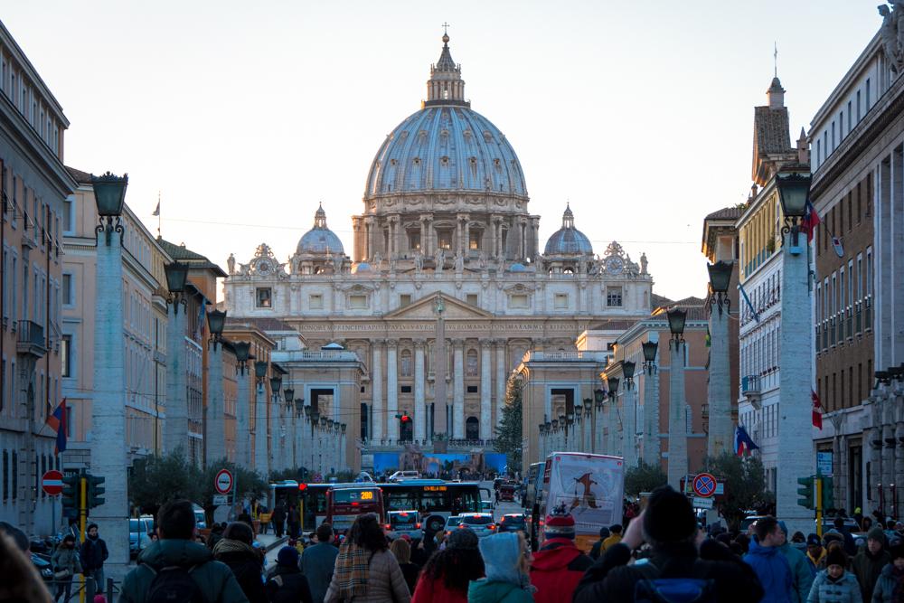 el vaticano en un día