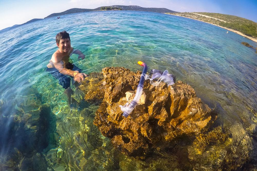 Ruta por Croàcia (IV): Primosten y Bilo, las mejores playas de Croacia