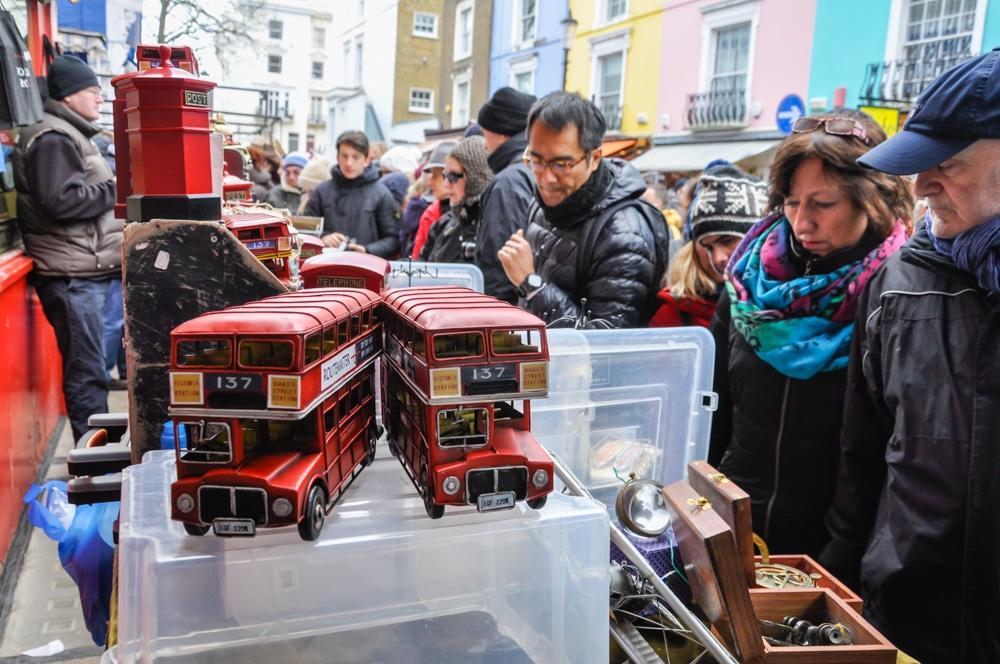 Portobello Market y Camden Town: dos mercados imprescindibles de Londres