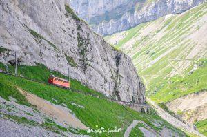 subida al monte pilatus desde Lucerna