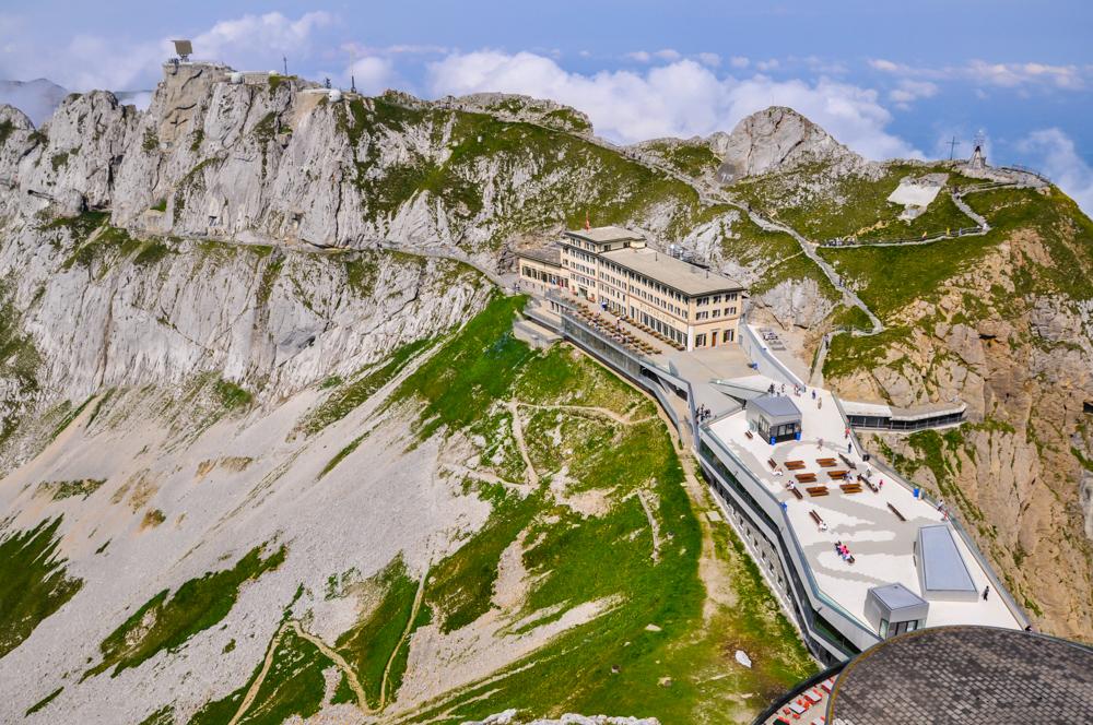 El gran mirador de Suiza. Subida al Monte Pilatus desde Lucerna
