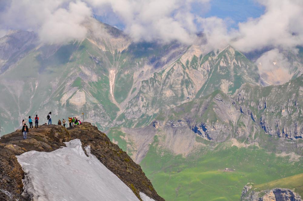 Ascenso en teleférico al monte Schilthorn en Suiza