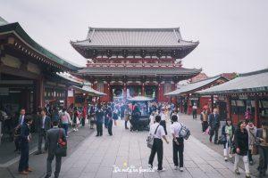 visita tokyo. Barrio de Asakusa