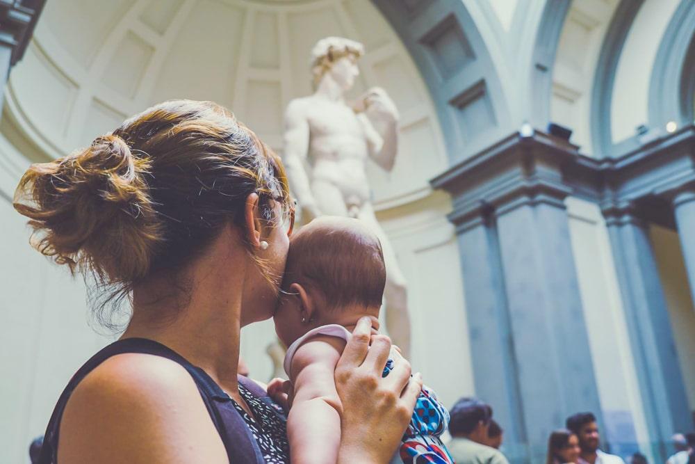 Escapada de 5 días a Bolonia y Florencia con un bebé de 4 meses