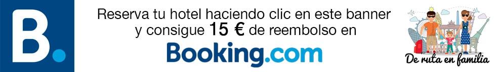 descuento booking 15€