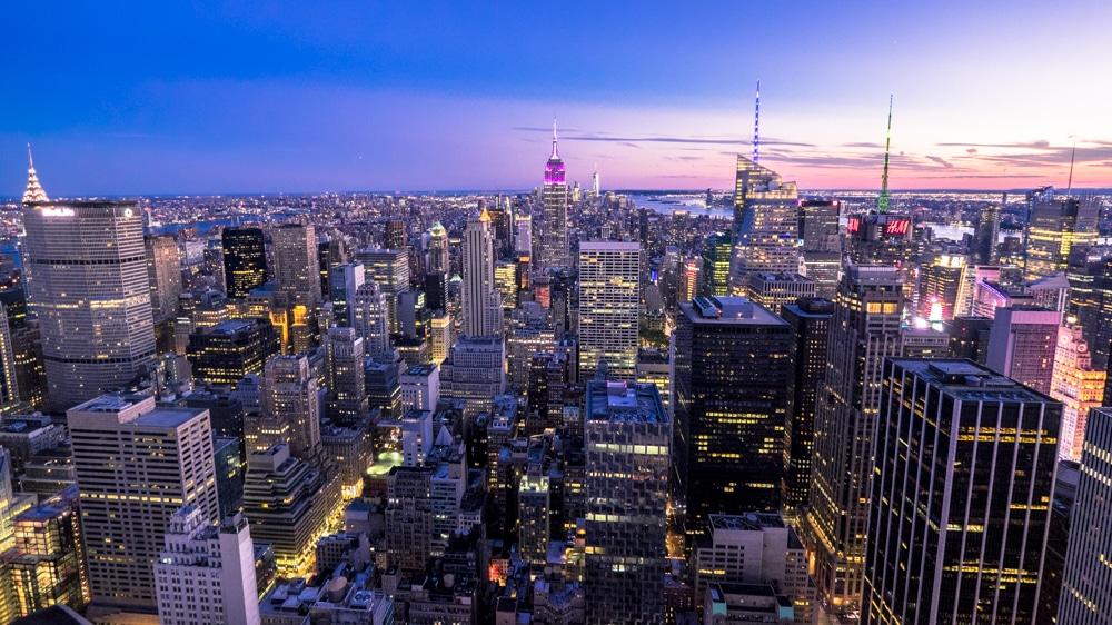 Miradores de Nueva York. Cuál es mejor: Empire State, One World o Top of the Rock?