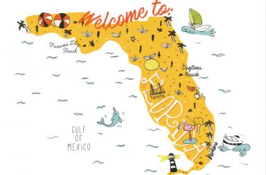 ruta por Florida de 12 días viajando con un bebé de 21 meses