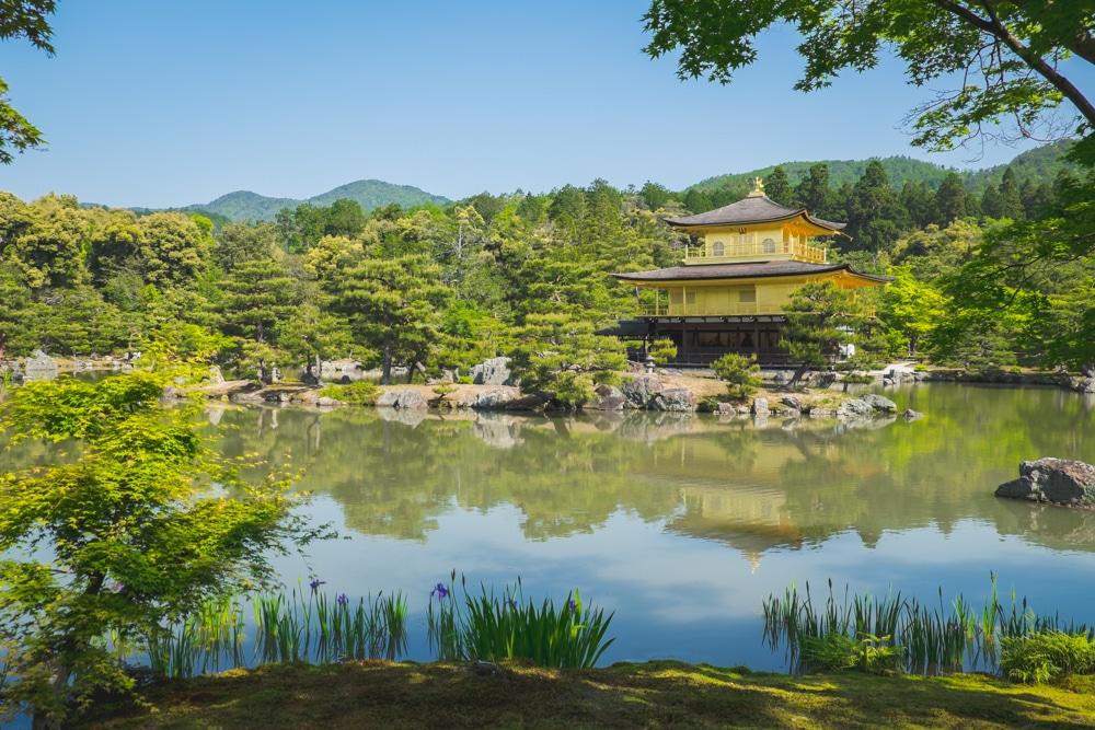 Visitar el Pabellón Dorado o Kinkaku-ji, el símbolo de Kyoto y de todo Japón