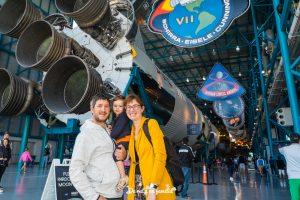 Visitar el Kennedy Space Center con niños