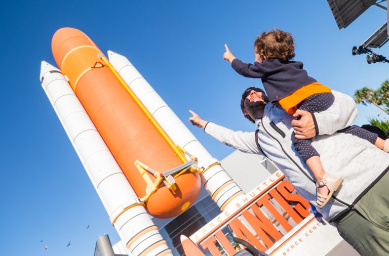 Visitar el Kennedy Space Center con un bebé