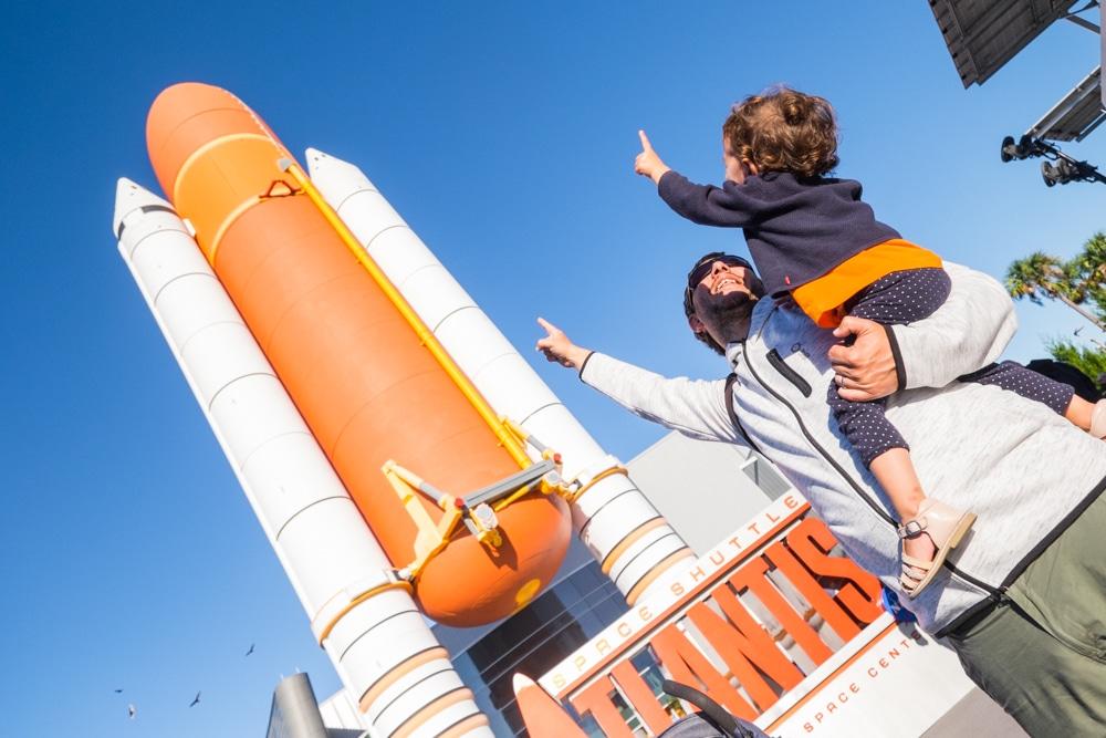 Todo lo que hay que saber para visitar el Kennedy Space Center con niños