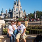 magic kingdom con un bebe