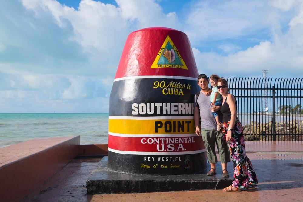 Ruta de 2 días por los Cayos de Florida. De Miami a Key West