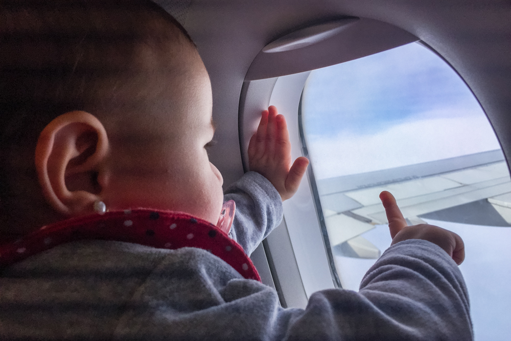 mejor destino para viajar con un bebé por primera vez