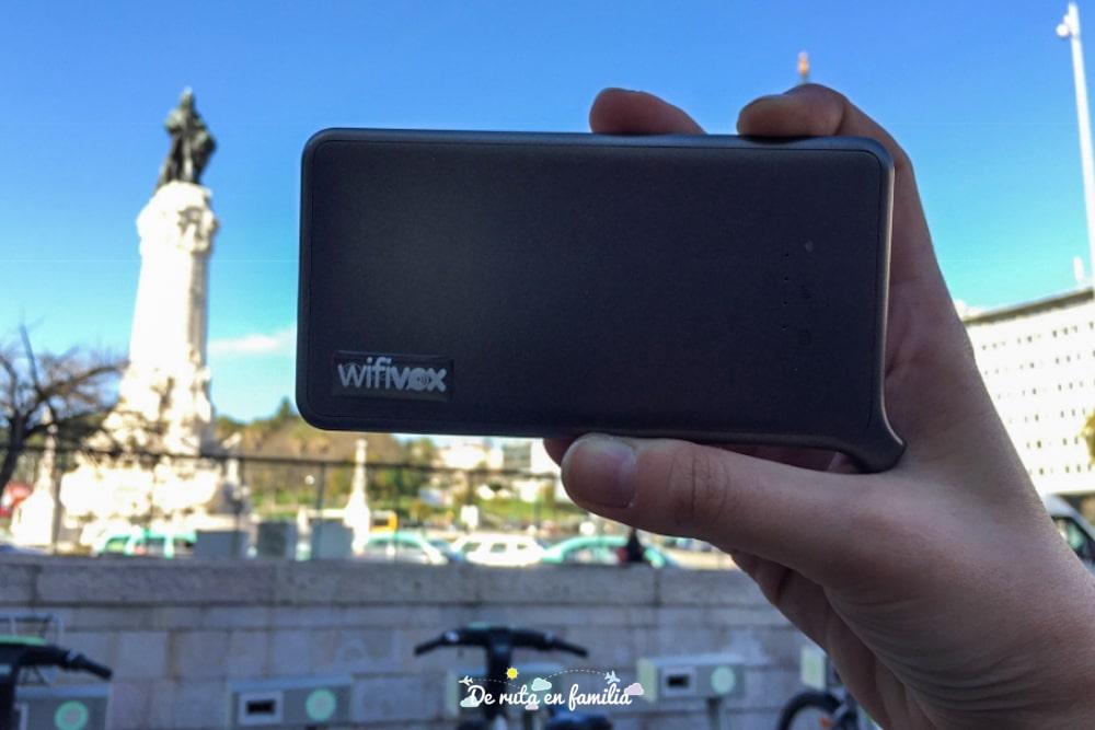 router portatil para viajes wifivox