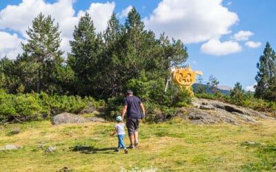 Actividad para hacer en Andorra con niños. Encuentra el tamarro