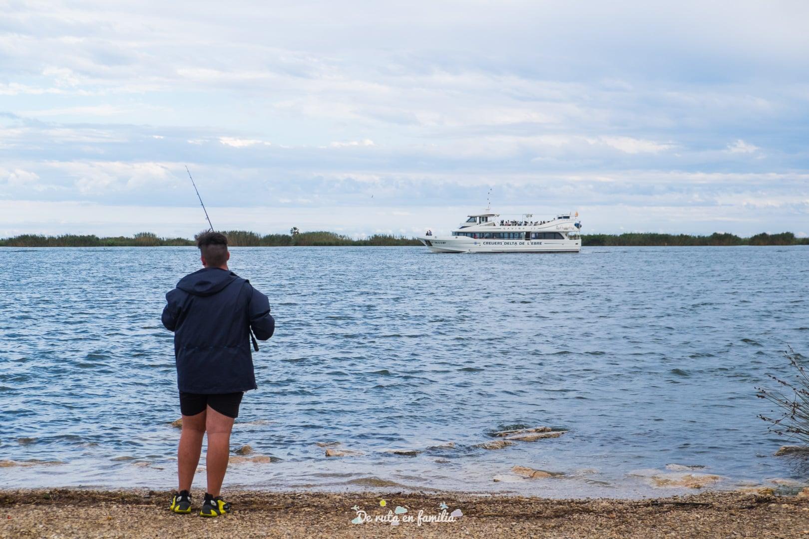 Delta del Ebro con niños crucero por la desembocadura