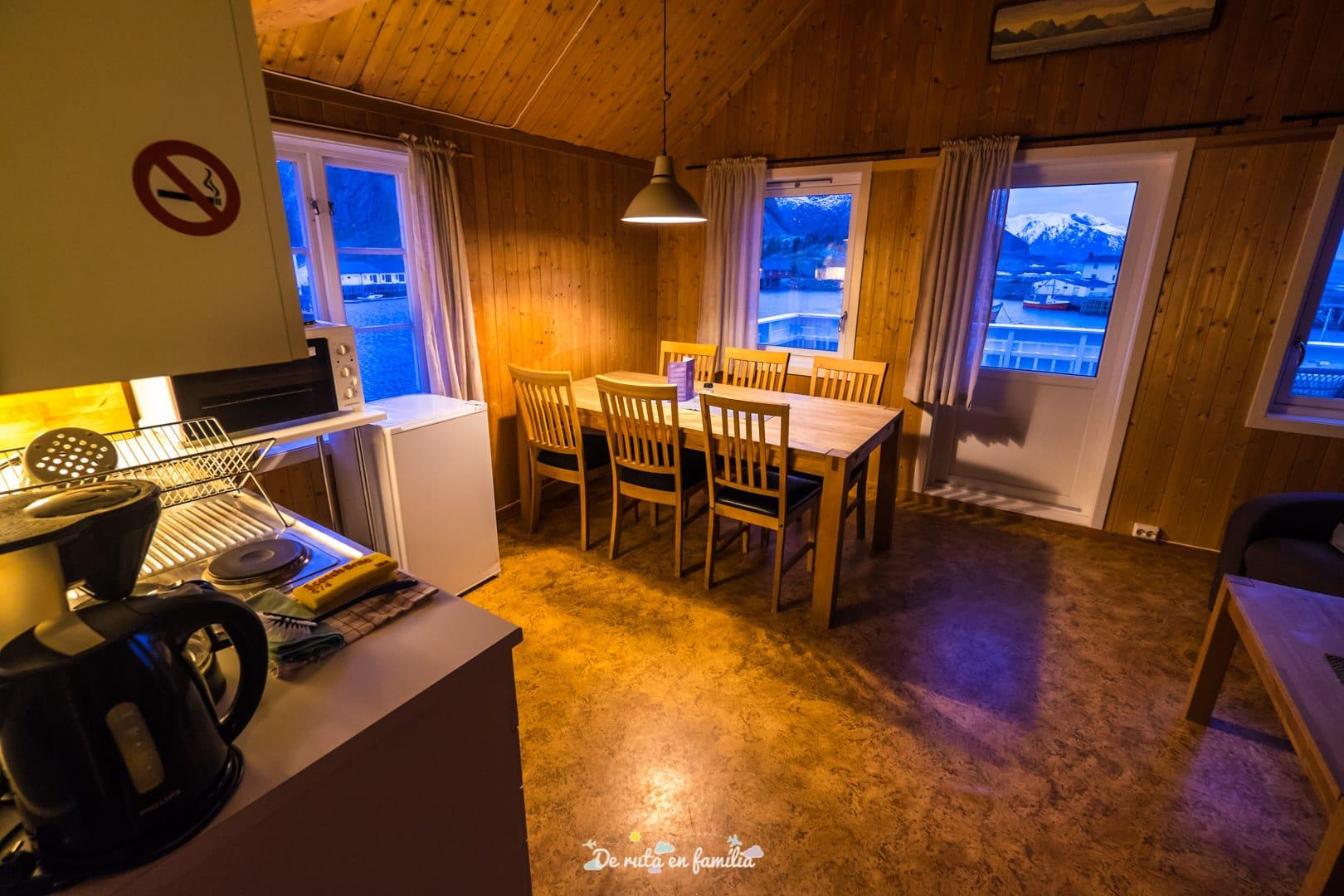 organizar un viaje a las islas Lofoten