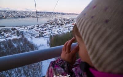 3 días en Tromsø con niños. Viaje a la capital ártica de Noruega en invierno