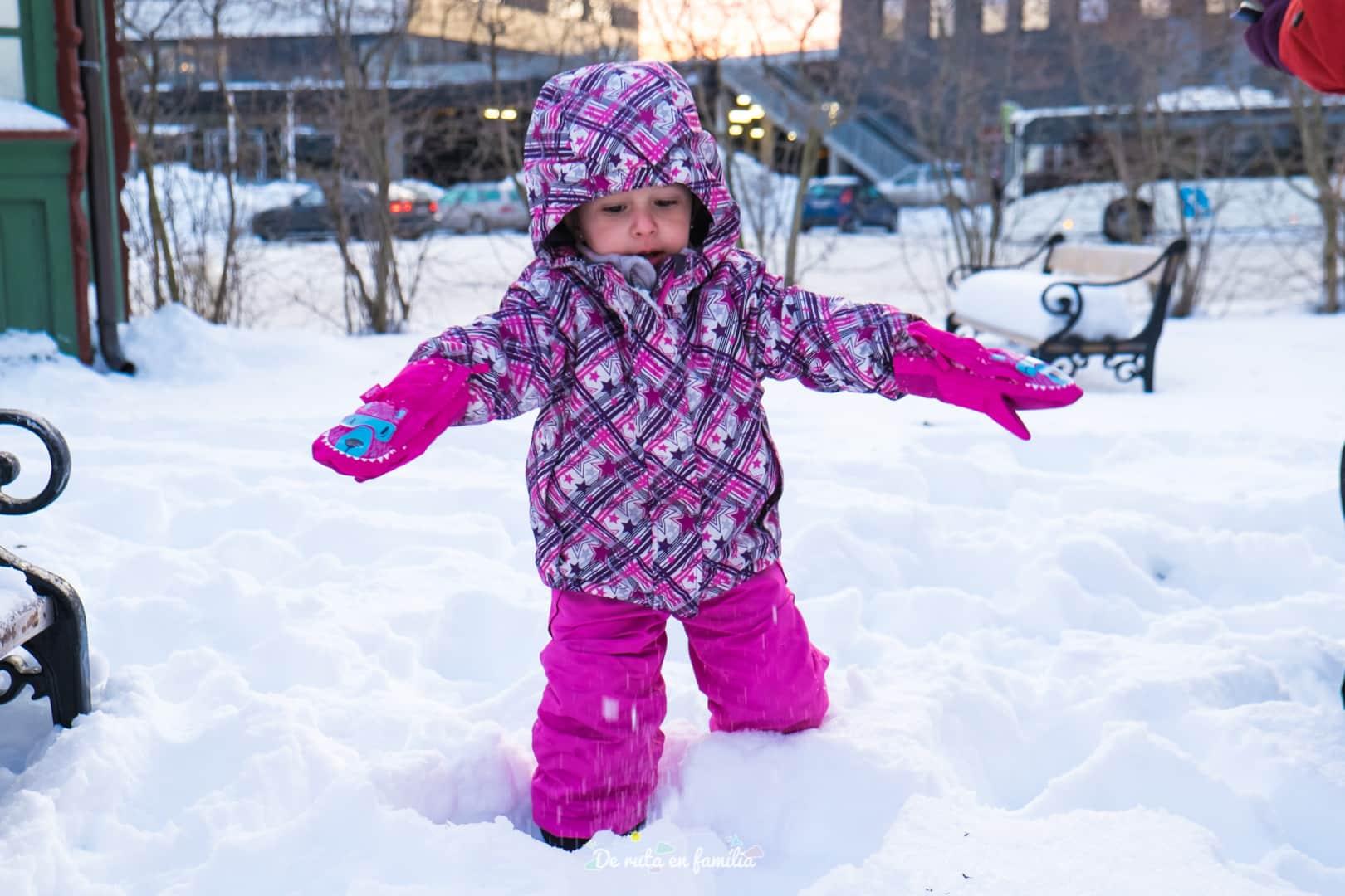 Tromso con niños