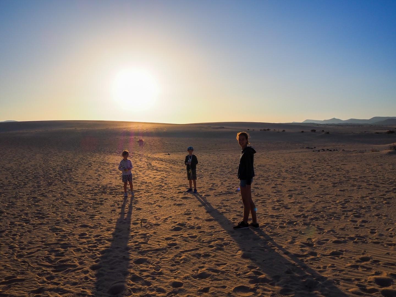 viajar con niños este verano a fuerteventura