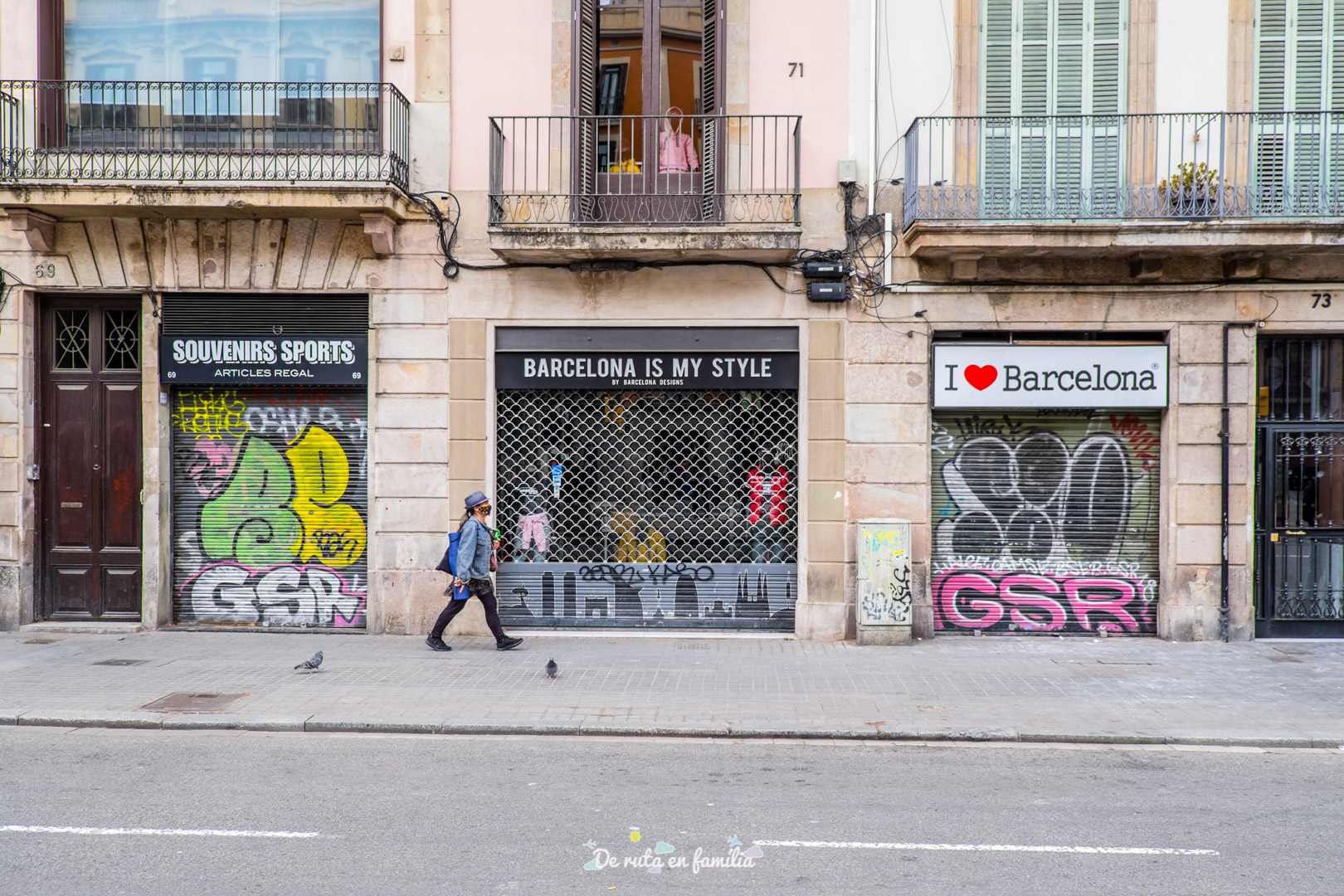 Barcelona con niños. Las Ramblas