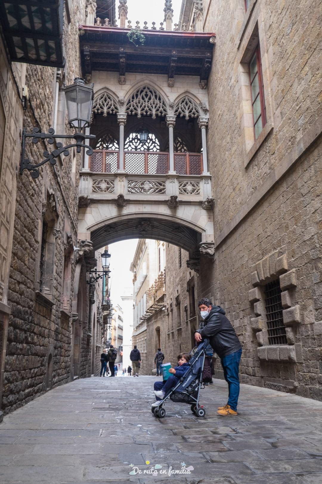 Barcelona con niños. Barrio Gótico
