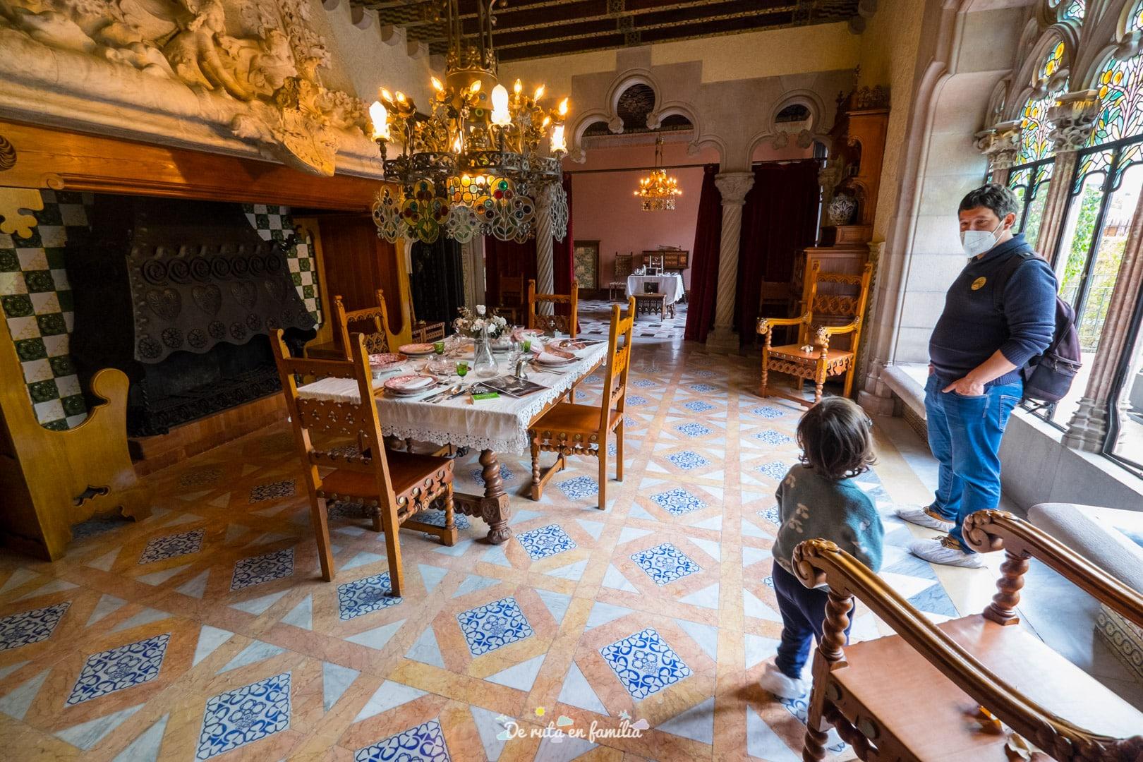 Casa Amatller. Barcelona con niños