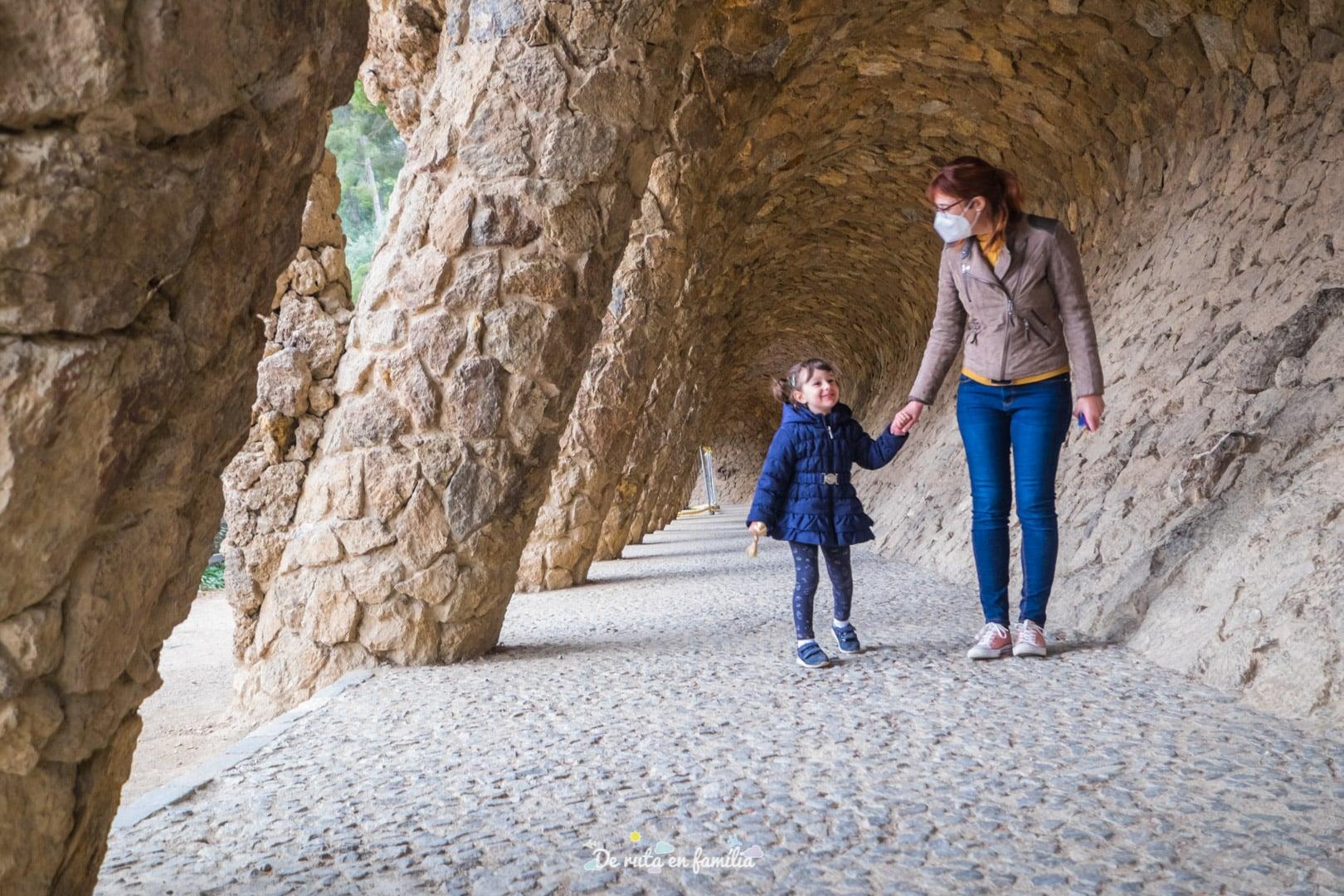 Barcelona con niños. Park Güell