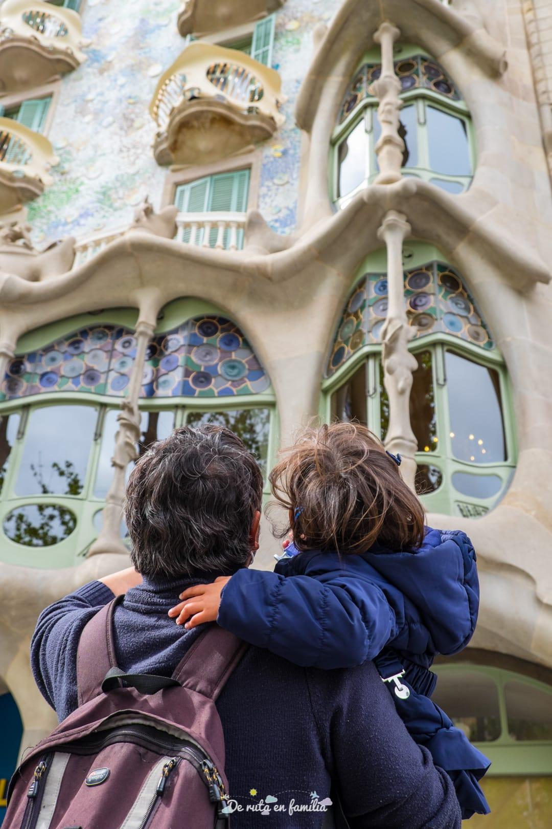 Barcelona con niños. Paseo de Gracia