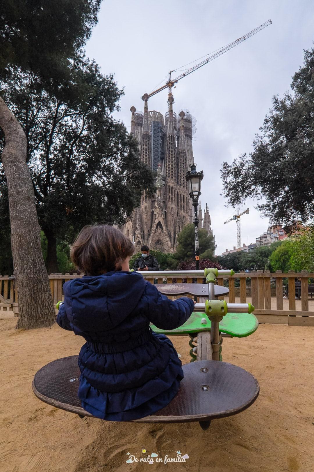Barcelona con niños. Sagrada Familia