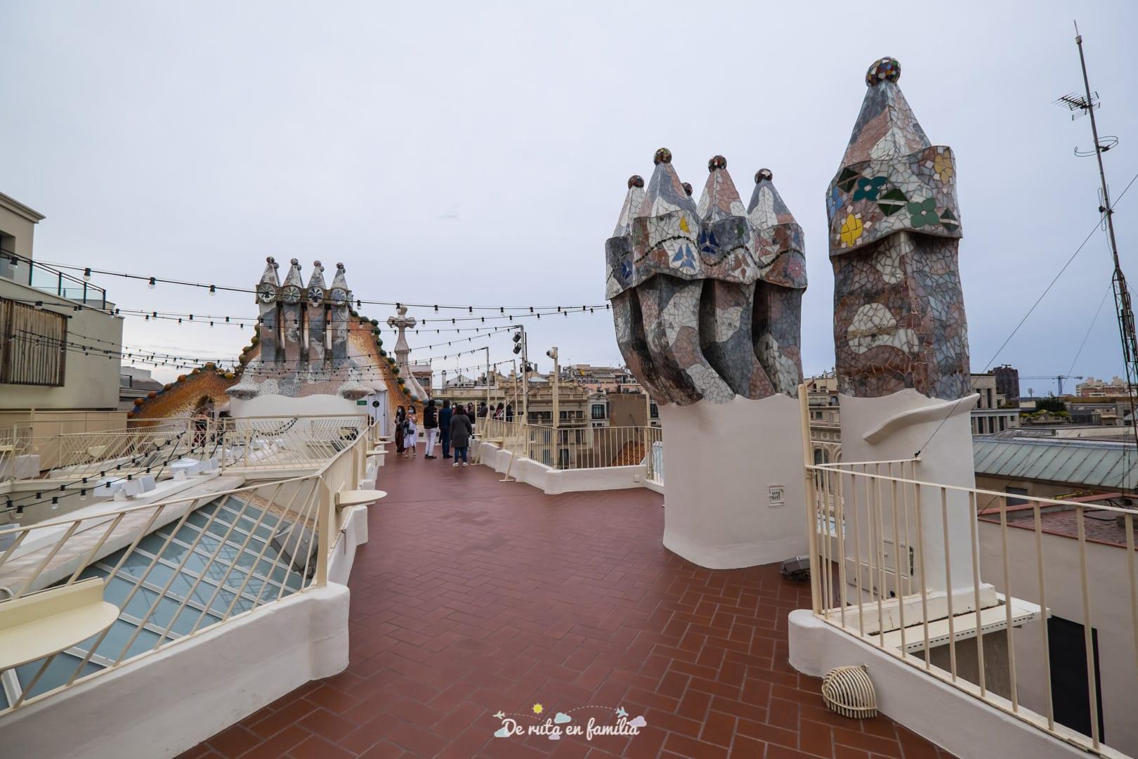Casa Batlló terraza