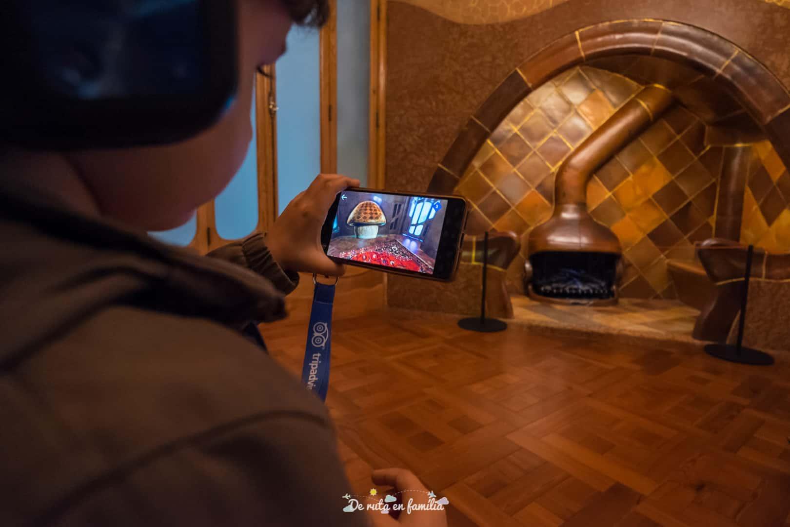 10D Experience Casa Batlló con niños