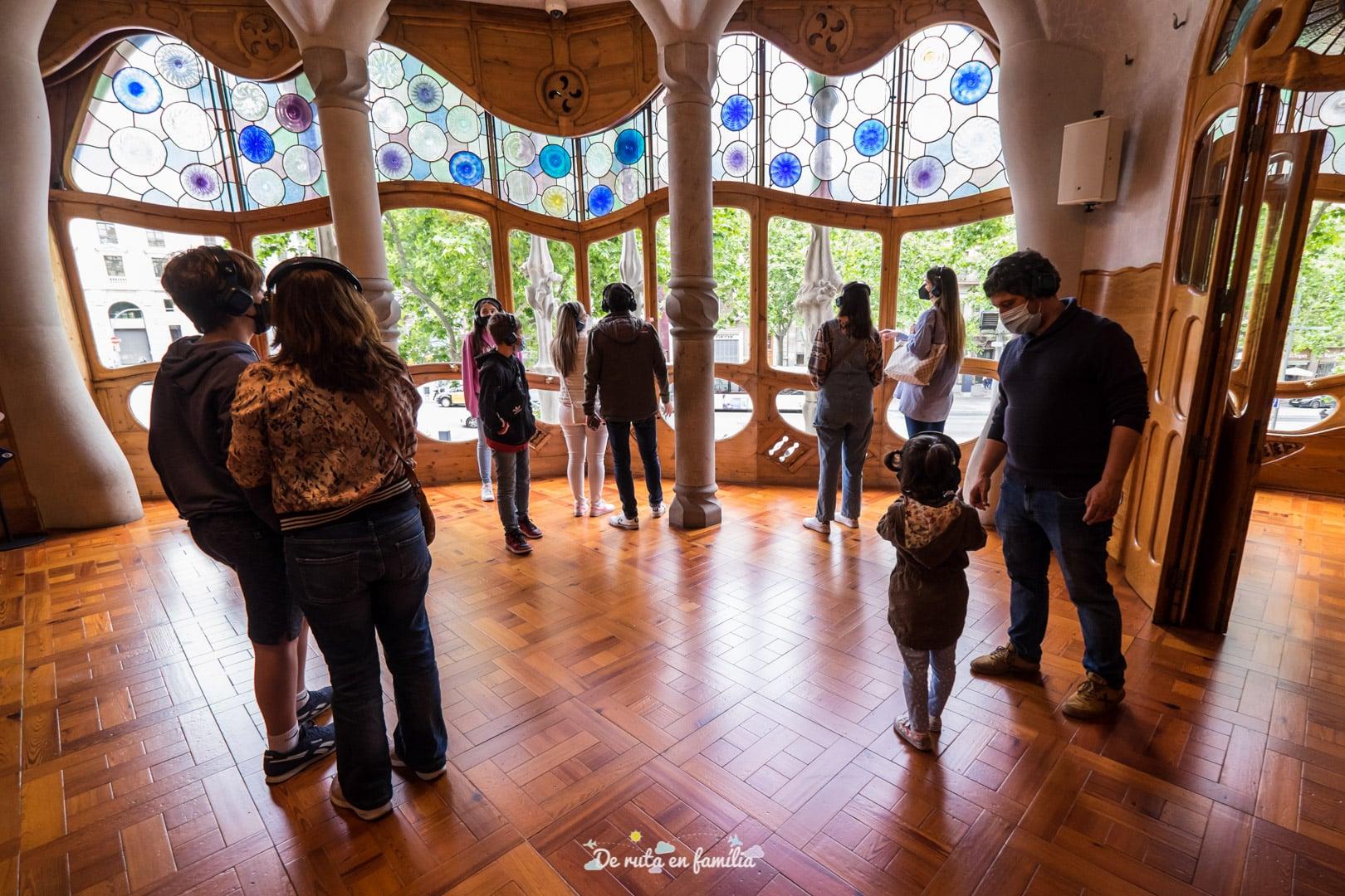 visita Casa Batlló con niños
