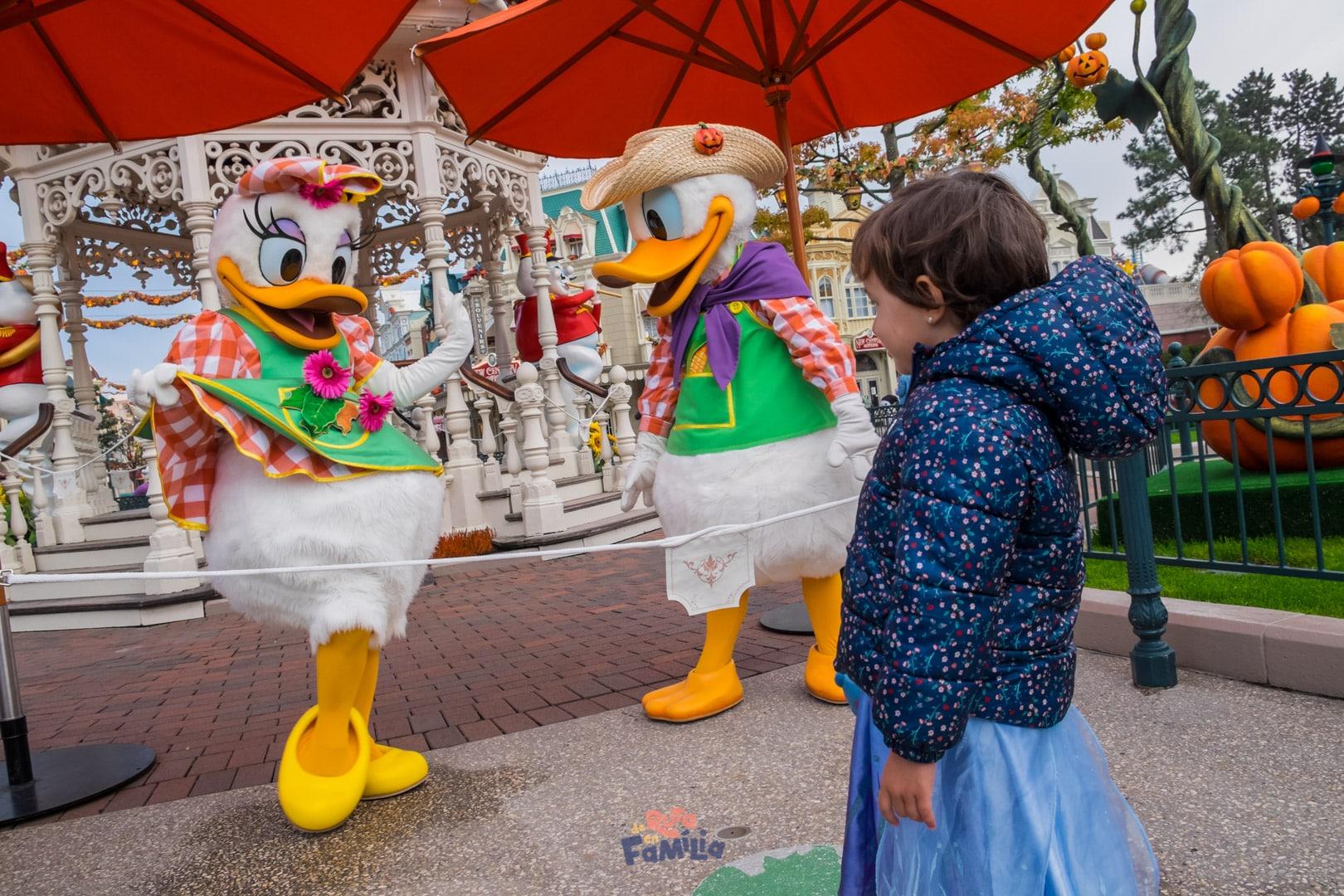 encuentros personajes Disney