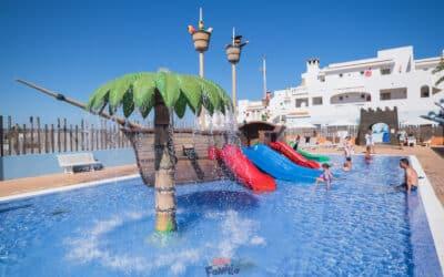 Blau Punta Reina Resort, el paraíso de Mallorca para las familias que buscan toboganes y todo incluido